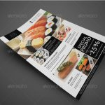 34-Menu flyers from Brochures printing service